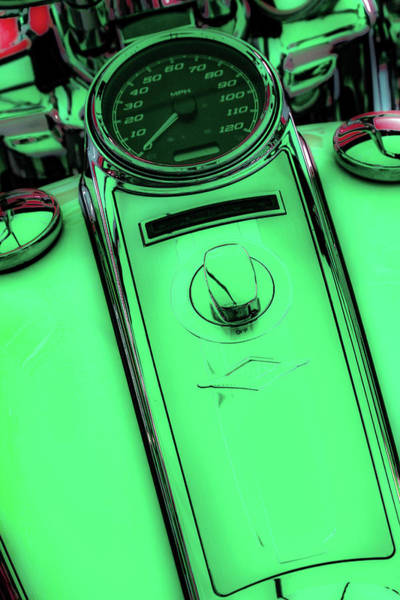 Photograph - Off Neon Sea_green 4419 G_2 by Steven Ward