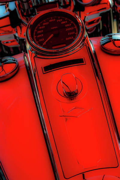 Photograph - Off Red Tangerine 4419 G_2 by Steven Ward