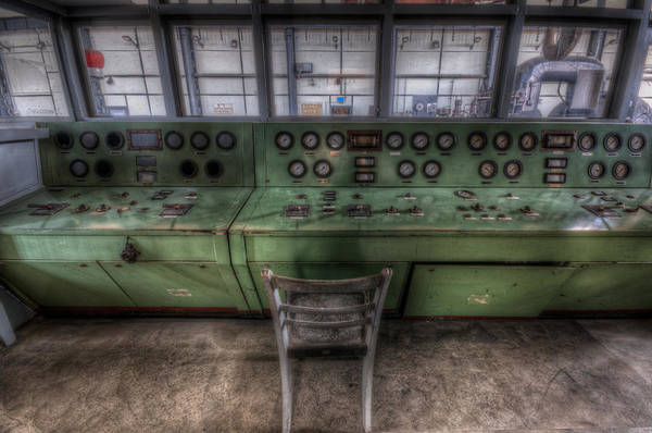 Dashboard Digital Art - Off Set Control by Nathan Wright