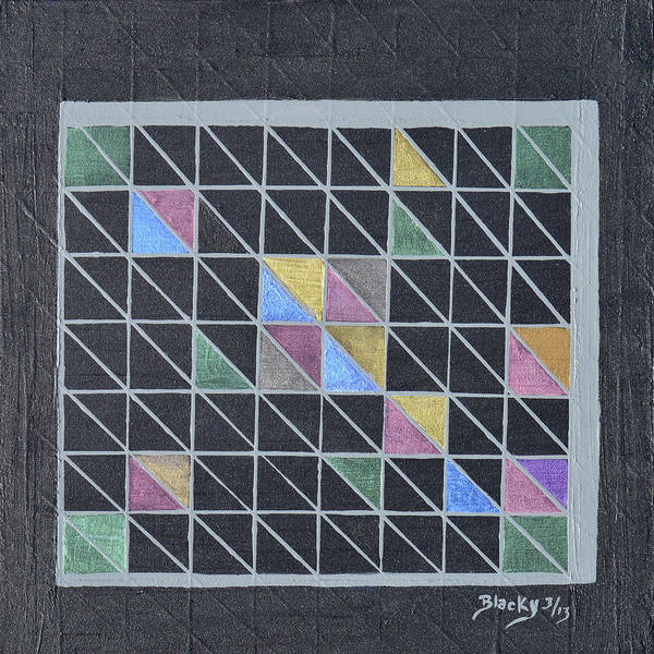 Wall Art - Painting - Off The Grid by Donna Blackhall