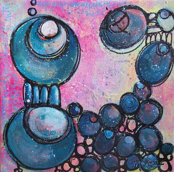 Painting - Off The Grid by Laurie Maves ART