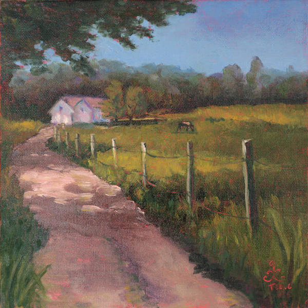 Painting - Off The Path In Whiting Bay by Trina Teele