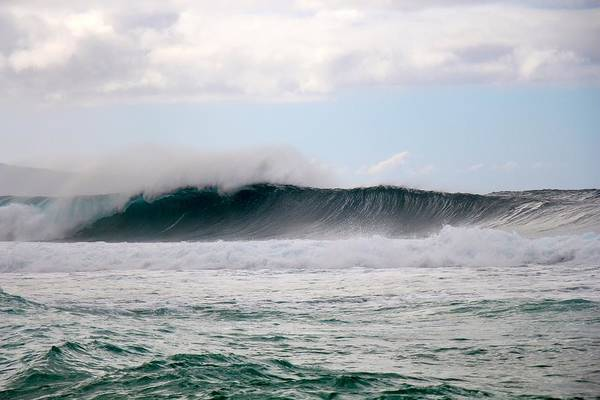 Bodyboard Photograph - Off-the-wall Bomb by Benen  Weir