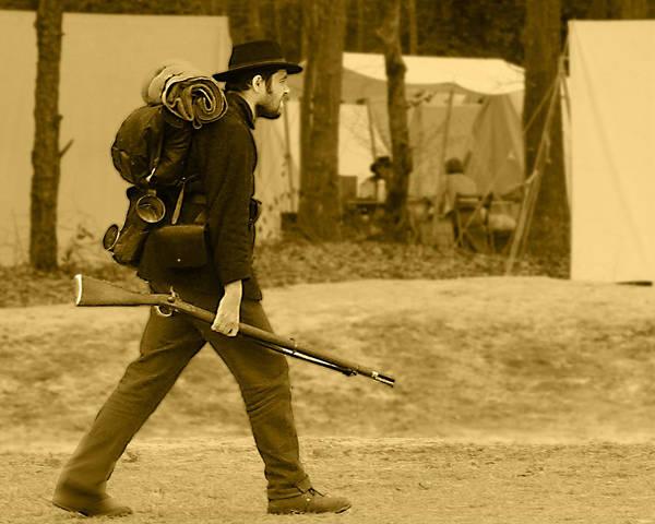 North Carolina Wall Art - Photograph - Off To Fight by Frank Savarese