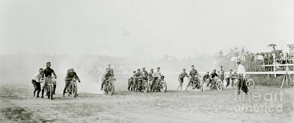 Victory Motorcycle Photograph - Off To The Races by Jon Neidert