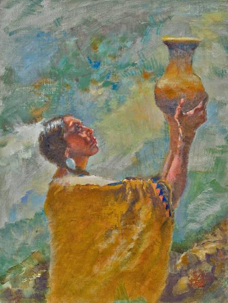 Painting - Offering by Ellen Dreibelbis