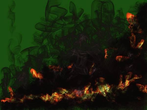 Pele Digital Art - Offering To Pele 2 by Ethel Mann