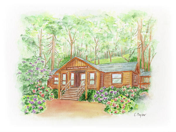 Painting - Office In The Park by Lori Taylor