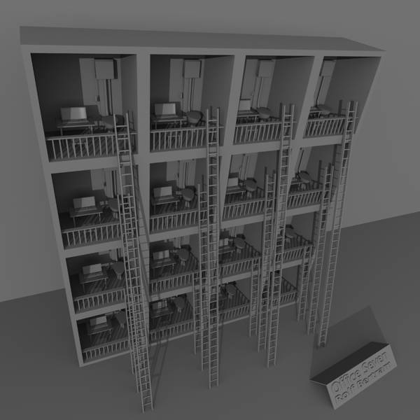 Digital Art - Office Seven by Rolf Bertram