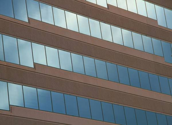 Photograph - Office Windows by Dan Sproul