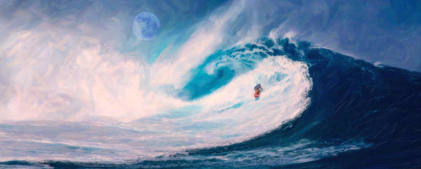 Painting - Offshore Wave by Adam Asar