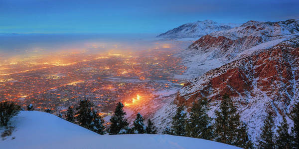 Photograph - Ogden Twilight by Ryan Moyer