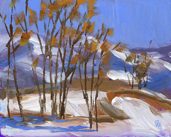 Painting - Ogden Valley Winter Ptg by David King