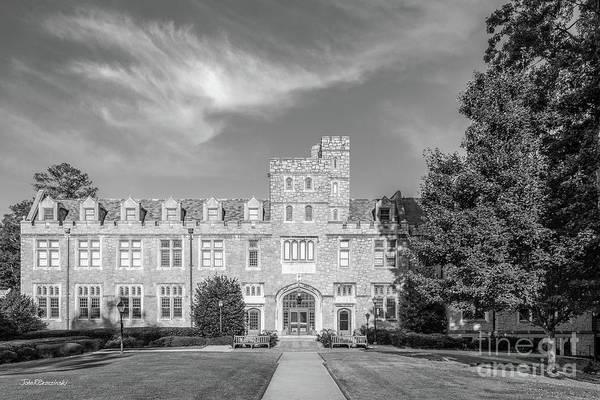 Photograph - Oglethorpe University Brookhaven Hall by University Icons