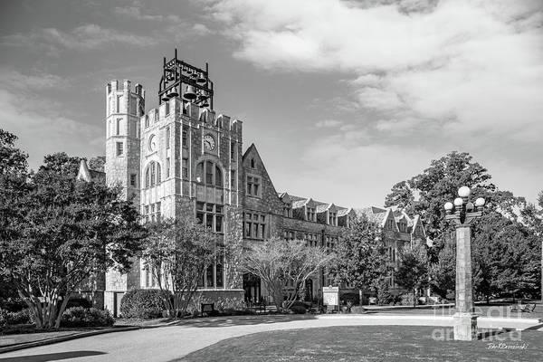 Photograph - Oglethorpe University Lupton Hall by University Icons