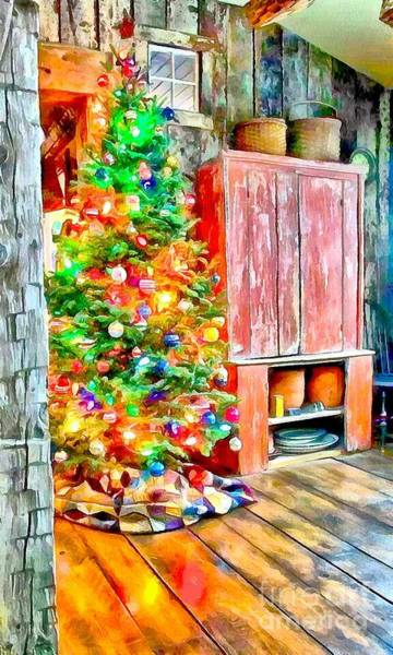 Painting - Oh Christmas Tree by Catherine Lott