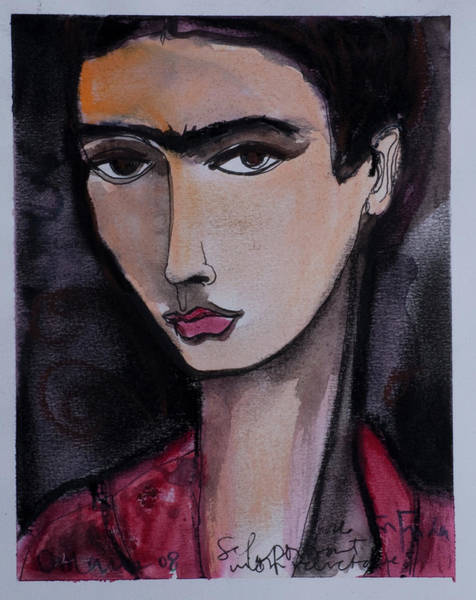 Painting - Oh For Frida by Laurie Maves ART