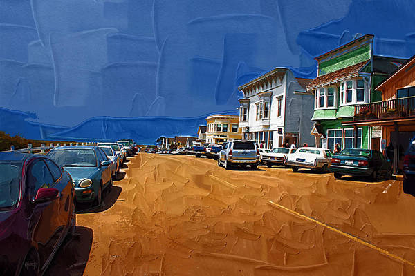 Holly Digital Art - Oh Mendocino by Holly Ethan