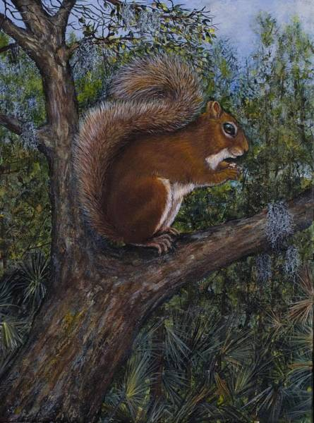 Painting - Oh, Nuts by Nancy Lauby