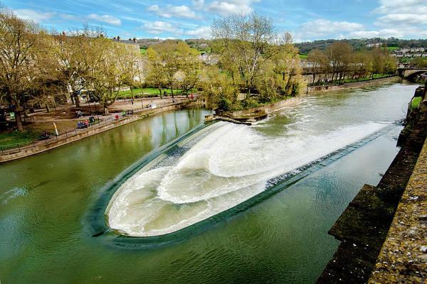 Bath Abbey Photograph - Oh Weir, Oh Weir by Greg Fortier