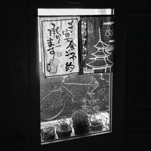 Japan Photograph - Ohayoo Gozaimasu!  #window #bicycle by Rafa Rivas
