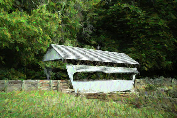 Wall Art - Photograph - Ohio Covered Bridge by Tom Mc Nemar