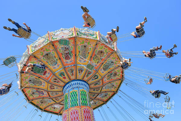 Photograph - Ohio State Fair Wave Swinger Iv by Clarence Holmes