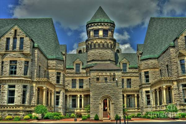 Photograph - Ohio State Reformatory by Tony Baca