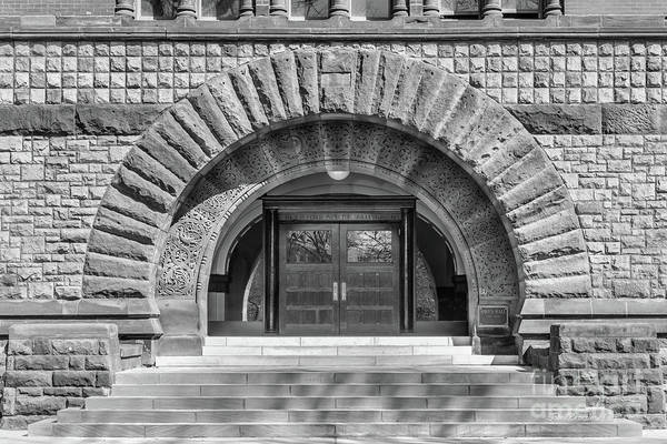Ohio State University Photograph - Ohio State University Hayes Hall Entry by University Icons