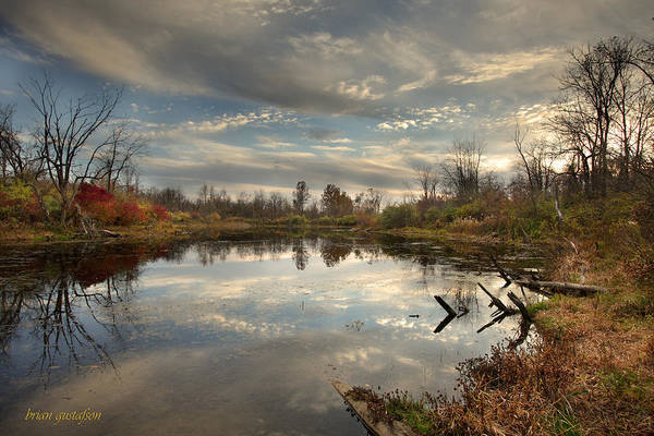 Berlin Ohio Photograph - Ohio Sunset by Brian Gustafson