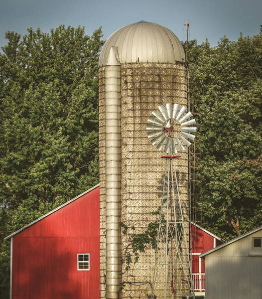 Wall Art - Photograph - Ohio Vintage Farm by Dan Sproul