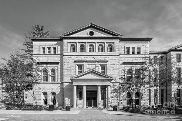 Methodist Photograph - Ohio Wesleyan University Slocum Library  by University Icons