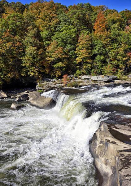 Wall Art - Photograph - Ohiopyle Falls - Pa by Brendan Reals