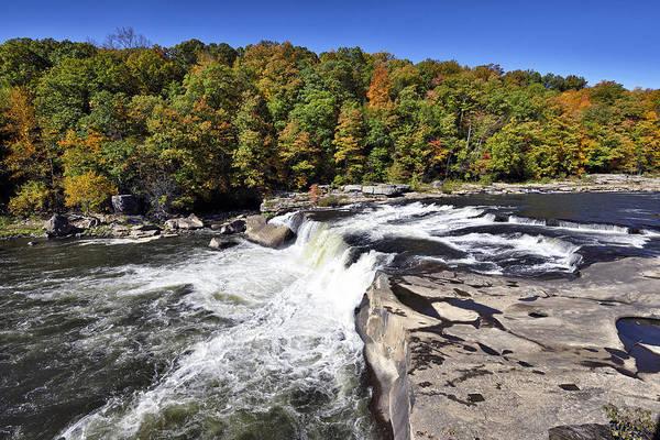 Wall Art - Photograph - Ohiopyle State Park - Ohiopyle Falls - Pennsylvania by Brendan Reals