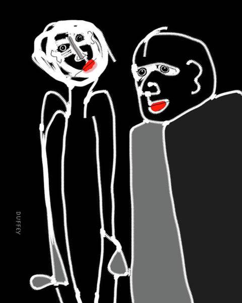 Digital Art - Ohne Titel Einz by Doug Duffey