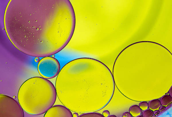 Wall Art - Photograph - Oil And Water O by Rebecca Cozart