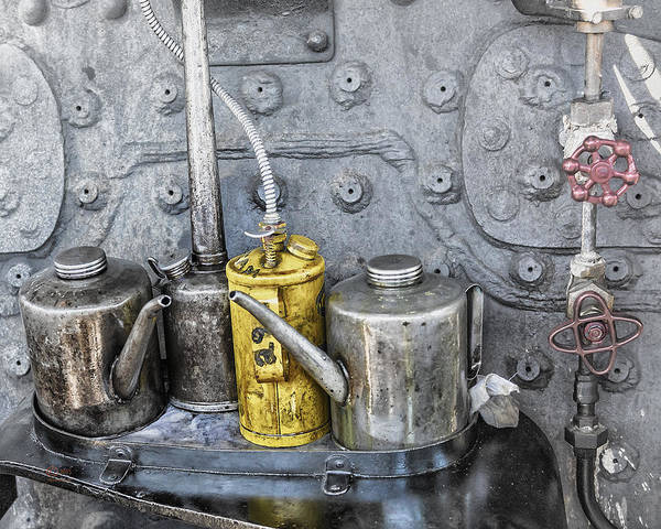 Photograph - Oil Cans by Jim Thompson