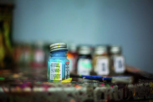 Photograph - Oil Paints by Jeanette Fellows