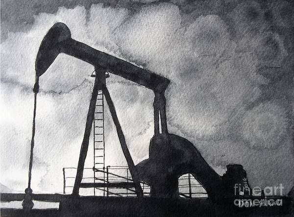 Wall Art - Painting - Oil Jack by Don Hand