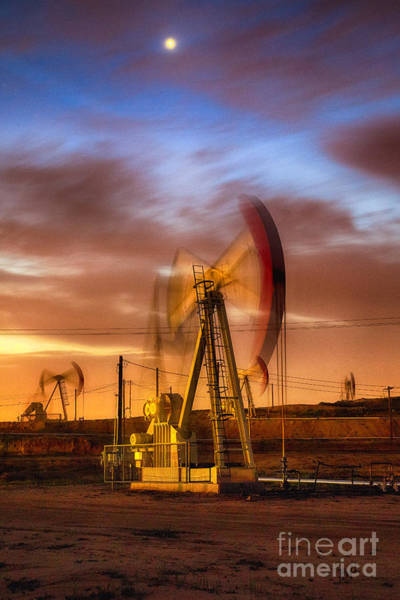 Photograph - Oil Rig 1 by Anthony Bonafede
