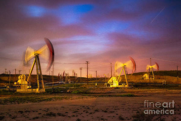 Photograph - Oil Rigs 2 by Anthony Bonafede
