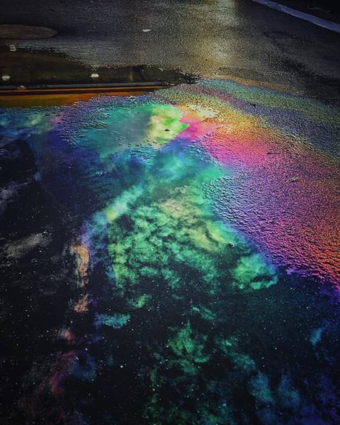 Photograph - Oil Spill by Mike Dunn