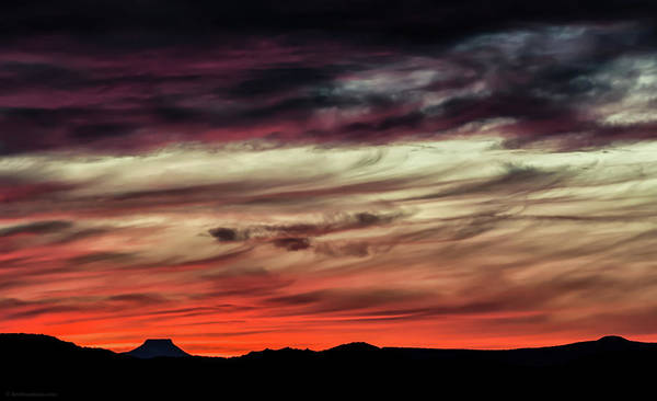 Photograph - Ojo Caliente Sunset by Britt Runyon