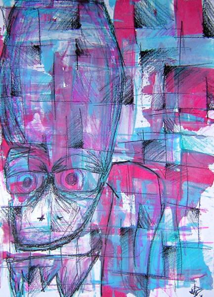 Influence Drawing - Ojo by Jera Sky