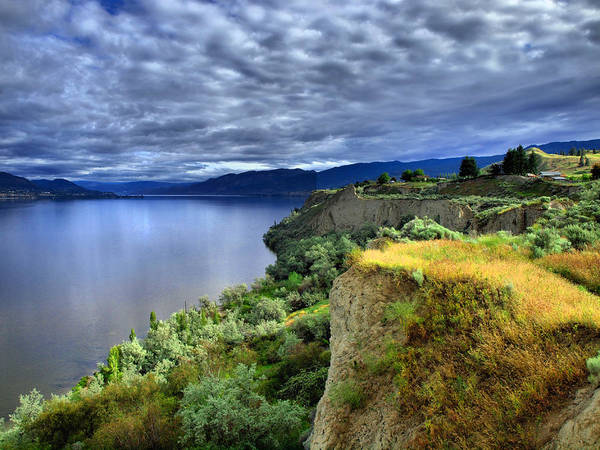 Photograph - Okanagan Lake On A Thursday by Tara Turner