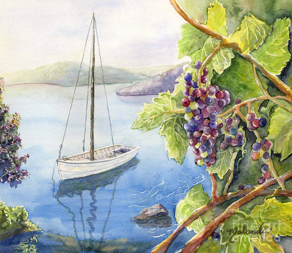 Okanagan Valley Painting - Okanagan Pleasures by Malanda Warner