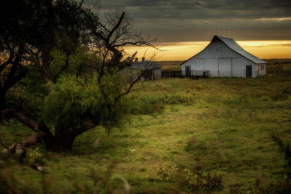 Photograph - Oklahoma Barnyard by Jonas Wingfield