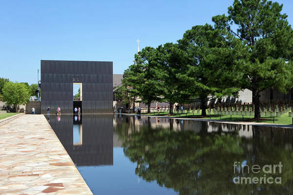 Photograph - Oklahoma City National Memorial Bombing by Steven Frame