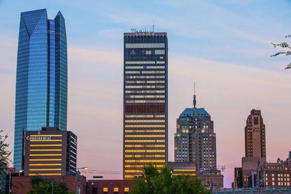 Photograph - Oklahoma City Okc Downtown City Skyline by Gregory Ballos