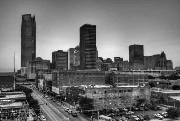 Okc Photograph - Oklahoma City  by Ricky Barnard